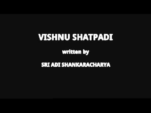 Vishnu Shatpadi By Sri Adi Shankaracharya video