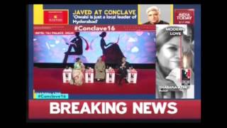 India Today Conclave 2016: Javed Akhtar & Shabana Azmi Exclusive