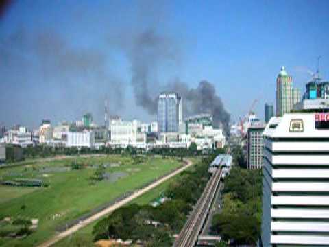 fire in bangkok thailand 5th december 2008