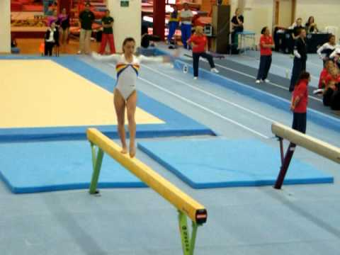 Catalina Ponor looks great on beam before 2011 World Championships