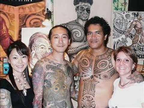 Vatea Tahiti alla 13 milano tattoo convention 2008 polinesia