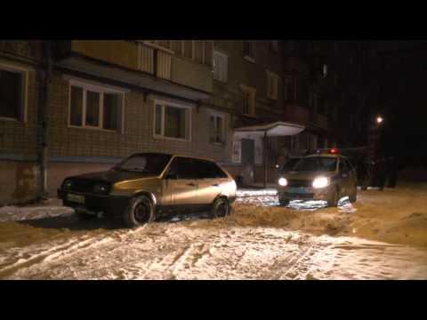 Два пьяных водителя с «девятки» Широнинцев. Место происшествия 15.02.2017