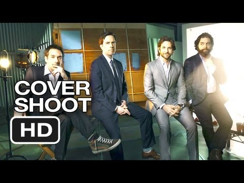 The Hangover Part III Cover Shoot – Hollywood Reporter (2013) – Bradley Cooper Movie HD