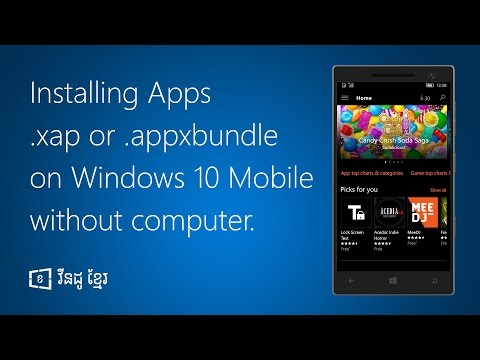 How to install apps .appx and .appxbundle on Windows 10 Mobile without Computer thumbnail