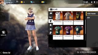Free Fire Nhận miễn phí trang phục Nữ sinh nước Anh | HVT Vlogs Mobie Gamer