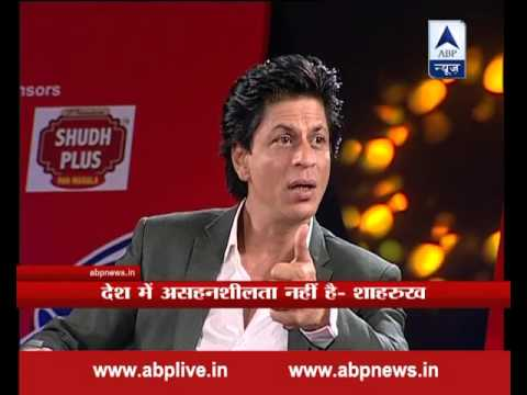 Shah Rukh Khan apologises for his comment on 'intolerance' on ABP News' s show Press Conference