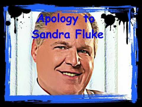 Rush Limbaugh Apology Sandra Fluke