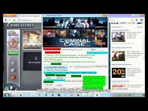 Criminal Case Trainer Free Download - TORI InfoGame - YouTube