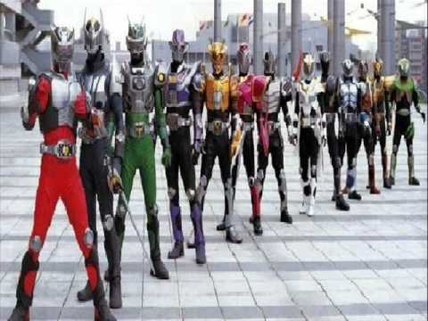 Kamen Rider Dragon Knight All Riders Video
