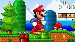 """Super Mario Bros. X (SMBX 1.4.2) Custom Level - """"MUSHROOM MADNESS"""""""