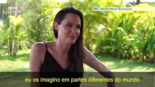 Entrevista  Angelina Jolie legendado BBC World News Fevereiro 2017