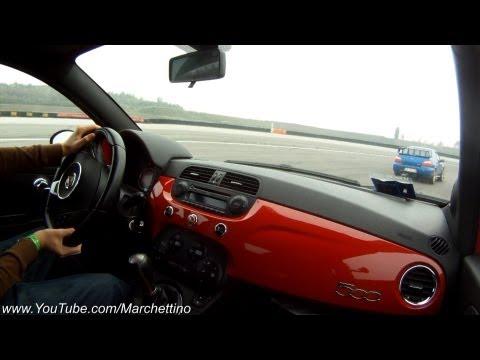 Abarth 500 vs Subaru Impreza WRX STi