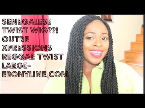 Senegalese Twist Wig?? SHOW AND TELL :Outre Xpressions Reggae Twist Large -Ebonyline.com