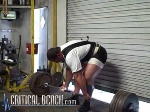 Pro Powerlifter Brian Carroll Deadlift Tips