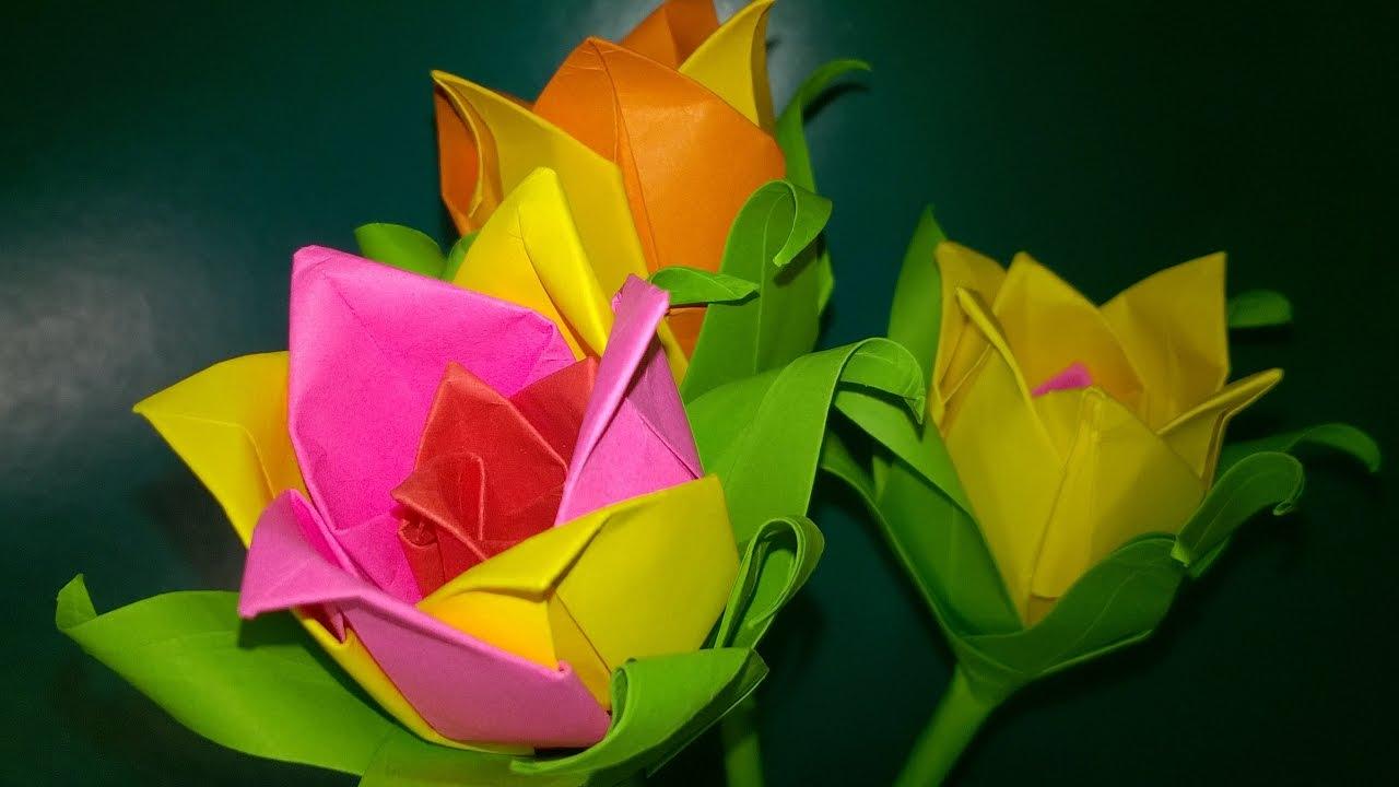 Сделать цветок подарок 99