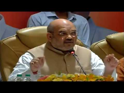 Press Conference by Shri Amit Shah in Trivandrum, Kerala : 14.05.2016