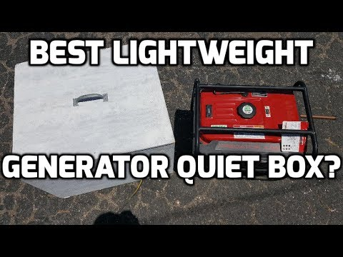 Best Lightweight Generator Quiet Box? - DIY