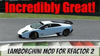 Probably The Best Road Car I've Driven in Sim Racing! The Lamborghini Murcielago SV for rFactor 2
