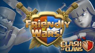 Clash of Clans Friendly Wars Update Arranged Wars