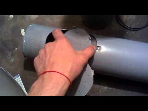 руками кормушка канализационной для своими кроликов из трубы