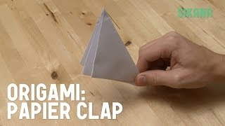 Origami : Comment Faire Un Papier Clap (papier Qui Claque) - Hd