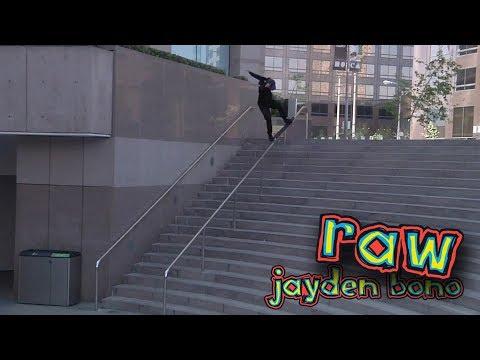 "Jayden Bono ""i AM blind"" Part | RAW"