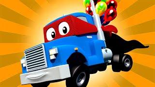 Xe tải khinh khí cầu - Siêu xe tải Carl 🚚⍟ những bộ phim hoạt hình về xe tải l Super Truck
