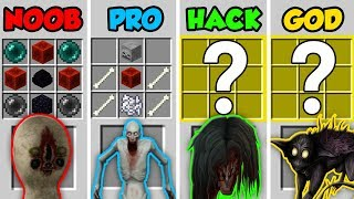 Minecraft NOOB vs. PRO vs. HACKER vs. GOD: SCP HORROR MOBS in Minecraft! (Animation)