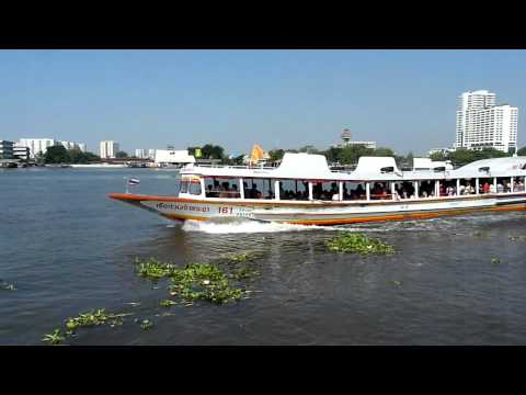 Mini footage – Speed boat in Bangkok (Bangkok, Thailand)