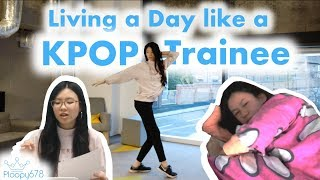 I trained like a KPOP idol for a day (almost died)