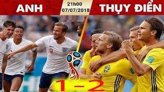 Nhận định Thụy Điển vs Anh, 21h00 ngày 07/07: Tứ kết World Cup 2018 : Anh Về Nước