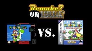 ROR: Super Mario World Vs. Super Mario Advance 2