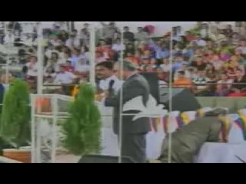INDIA PASTOR SHARON   CONVENCION  TESTIMONIOS DE  LA INDIA    HAY QUE INTERCEDER POR LA INDIA