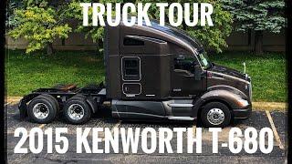 My First Truck | 2015 Kenworth T680 Truck Tour