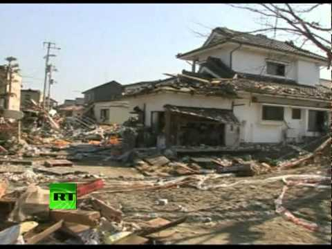 Video of devastated Japan, quake damage, cities swamped by tsunami