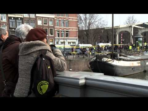 Amnesty action around Putin's visit to the Netherlands