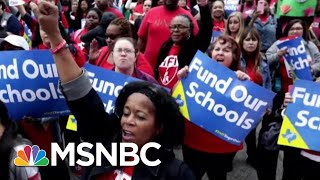 Will The Teacher Pay Gap Be Fixed On A Federal Or Local Level?   Velshi & Ruhle   MSNBC