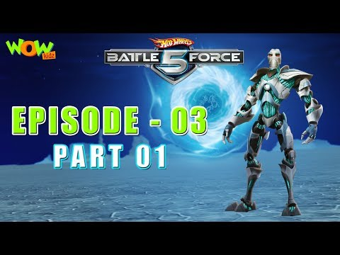 Hot Wheels Battle Force 5 - Common Cold War- Episode 3-P1 - in Hindi thumbnail