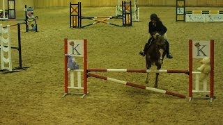 Jazz Clear 2'6 at Bromyard Equestrian [2nd Place]