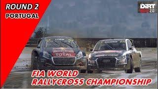 【DiRT Rally 2 】 RALLYCROSS CHAMPIONSHIP ROUND 2 PORTUGAL