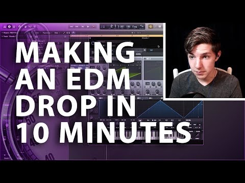 Making An Edm Drop In 10 Minutes