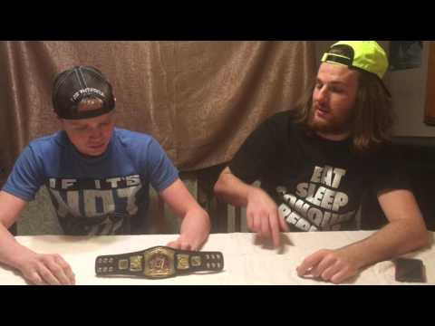 WWE Rated-R Spinner Mini Championship Unboxing -PM Reviews