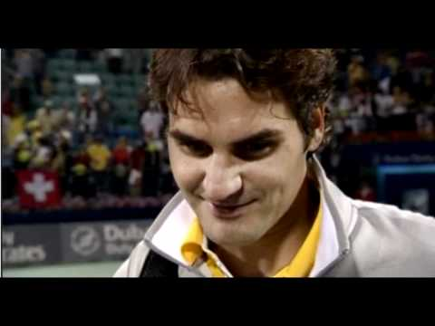 2011 Dubai ATP Roger Federer Final Interview After Losing to Djokovic