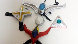 ウルトラマン 歴代カラータイマー玩具を集めてみた ウルトラマンX Ultraman Color Timer