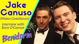 Benidorm series 10: Jake Canuso interview with Rory O'Connor about playing Mateo Castellanos