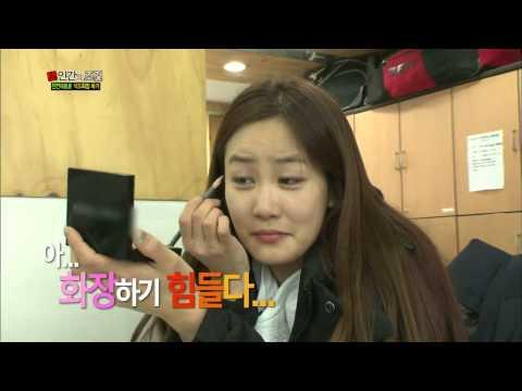 [HIT] '개콘 미녀' 김지민, 밀가루 메이크업에 '좌절'  인간의조건.20140208