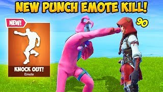 PUNCH EMOTE ACTUALLY KILLS?! - Fortnite Funny Fails and WTF Moments! #340