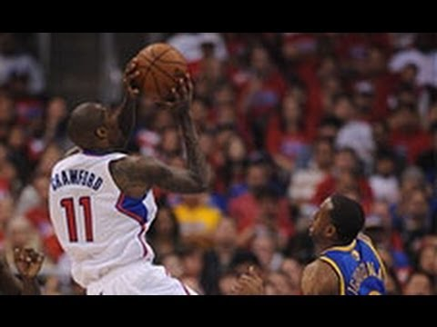 Jamal Crawford Sinks the Shot from Halfcourt at the Buzzer!