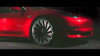 Tesla Model 3 Reveal Video 4K