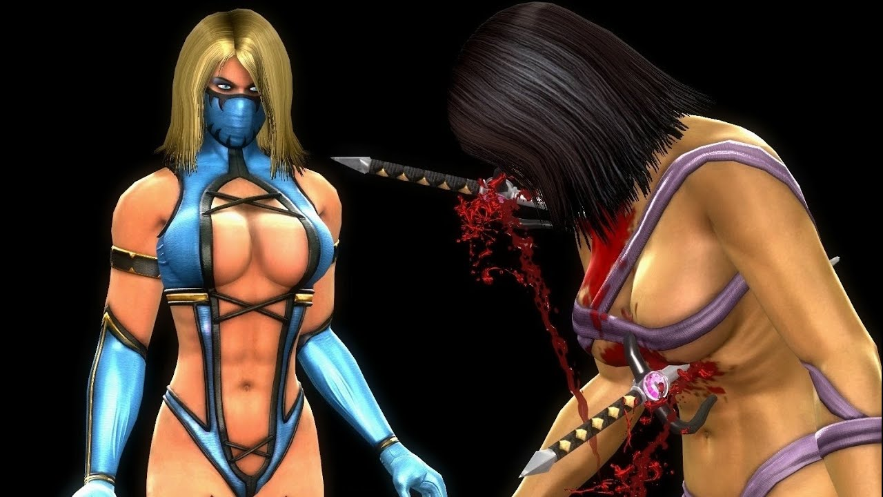 Nude pics of mileena from mk sexy scenes